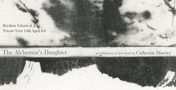 The Alchemist's Daughter exhibition poster