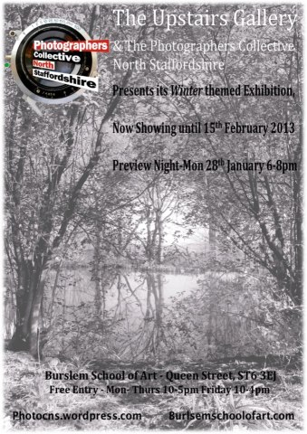 Winter Exhibition poster